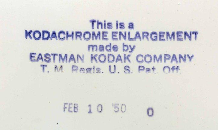 2.2 Kodachrome Enlargement D.D. Teoli Jr. Archival Collection