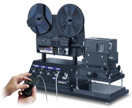 Telecine film scanner