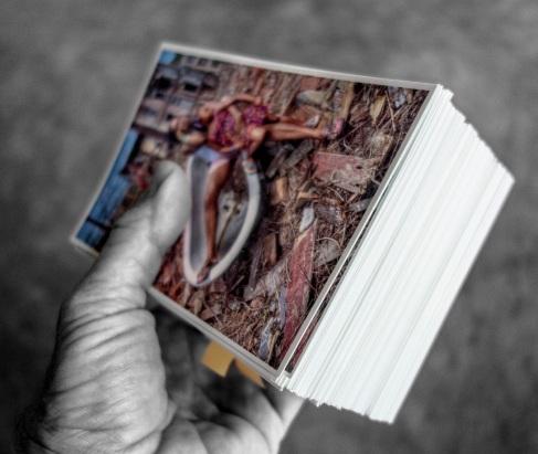 Guerrila postcard mailing Daniel D. Teoli Jr.