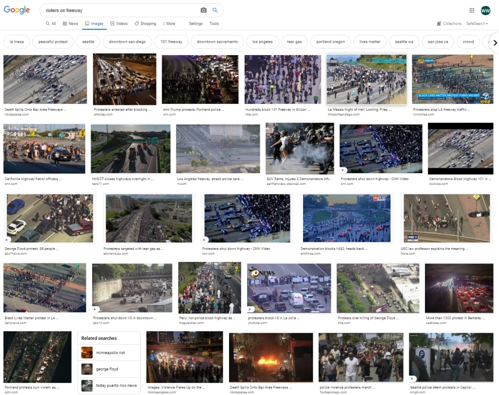 This image has an empty alt attribute; its file name is rioters-on-freeway-july-2020-d.d.teoli-jr.-a.c..jpg